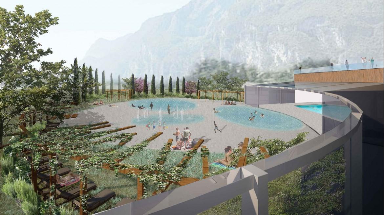 Concorso Miralago piscine Landesign