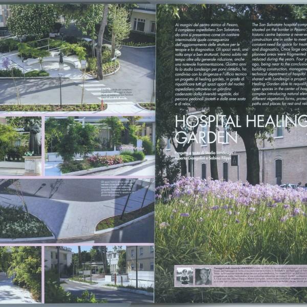 Hospital healing garden 1-2