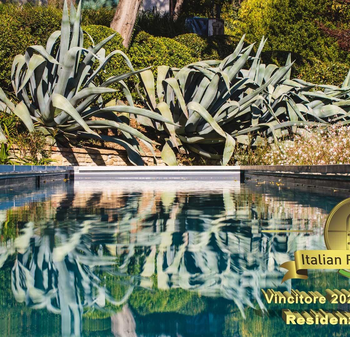 Piscina natatoria in villa privata